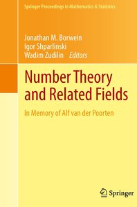 Number Theory and Related Fields