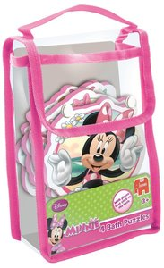 Disney Minnie Mouse 4in1 Badepuzzle - 2/3/3/4 Teile