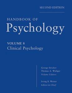 Handbook of Psychology 08