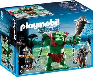 PLAYMOBIL 6004 Riesentroll mit Zwergenkämpfern