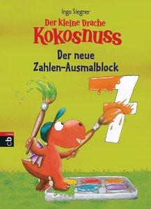 Der kleine Drache Kokosnuss - Der neue Zahlen-Ausmalblock
