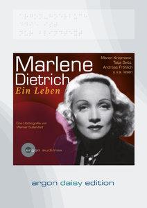 Marlene Dietrich. Ein Leben (DAISY Edition)