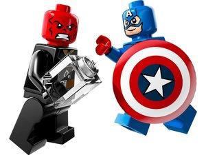 LEGO ® Heroes 76017 - Captain America vs. Hydra