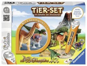 Ravensburger tiptoi 00746 - Tier Set Im Zeitalter der Dinosaurie