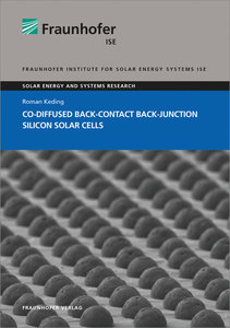 Co-diffused Back-Contact Back-Junction Silicon Solar Cells.