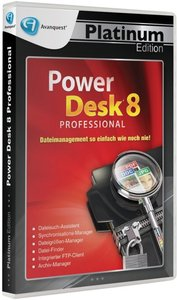 PowerDesk 8 Professional - Platinum Edition
