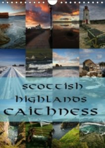 Scottish Highlands - Caithness / UK Version (Wall Calendar 2015