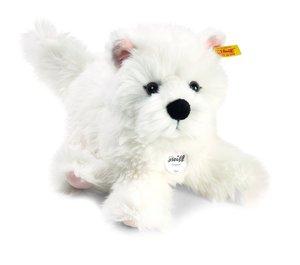 Steiff 076992 - Sam West Highland Terrier 30 cm, weiß