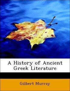 A History of Ancient Greek Literature