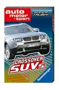 Ravensburger 20326 - Crossover SUVs, Quartett