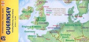 Guernsey & Alderney, Sark, Herm 1 : 12 500