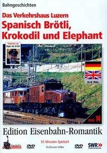 RioGrande - Edition Eisenbahn-Romantik - Spanisch Brötli, Krokod