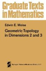 Geometric Topology in Dimensions 2 and 3