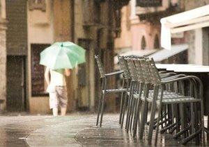 Einladung ins Straßencafé (Posterbuch DIN A3 quer)
