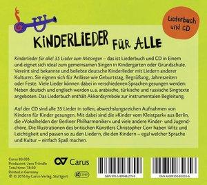 Kinderlieder für Alle (CD+Liederbuch)