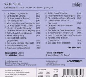 Wulle Wulle-Kinderlieder