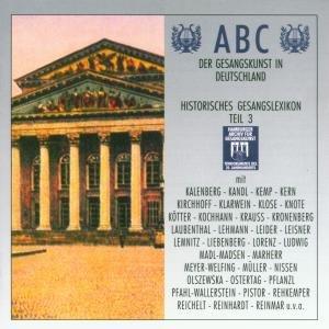 Abc Der Gesangskunst Teil 3