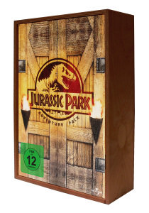 Jurassic Park Trilogy in Holzbox