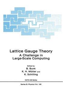 Lattice Gauge Theory