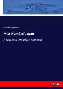 Miss Numè of Japan