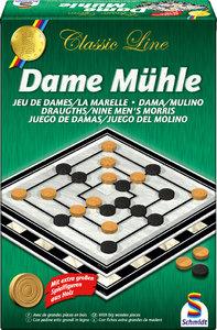 Schmidt Spiele 49083 - Dame Mühle
