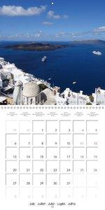 Dream Destinations Europe (Wall Calendar 2015 300 × 300 mm Squar