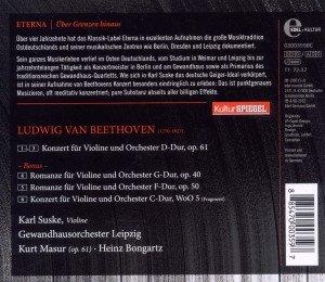 Violinkonzert/Romanzen (Kulturspiegel-Edition)