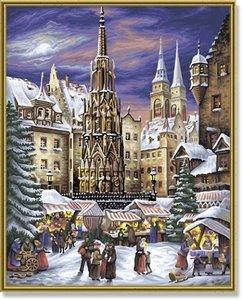 Schipper 609130336 - Nürnberger Christkindelsmarkt, MNZ, Malen n
