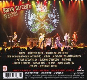 Setzer, B: Rockabilly Riot: Live From The Planet