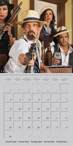 Gangsters and Outlaws of 20th Century (Wall Calendar 2015 300 ×