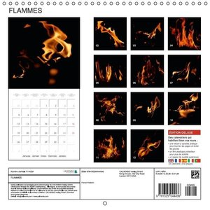 FLAMMES (Calendrier mural 2015 300 × 300 mm Square)