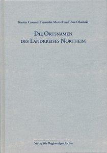 Niedersächsisches Ortsnamenbuch Teil 05. Die Ortsnamen des Landk