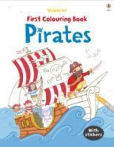 First Colouring Book: Pirates