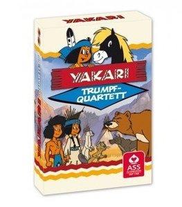 Yakari Quartettspiel in Faltschachtel