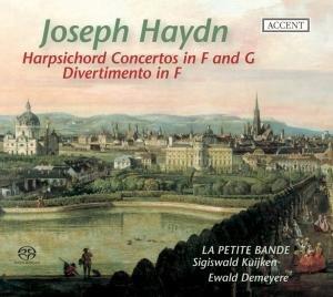 Harpsichord Concertos Hob.XVIII:3 & 4/Di