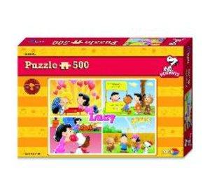 Noris 606031300 - Peanuts Puzzle Lucy, Puzzle 500 Teile