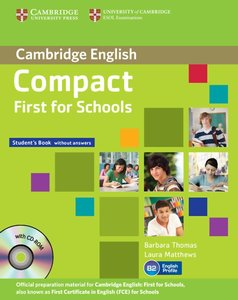 Compact First f. Schools/Stud. B. without answers with CDR