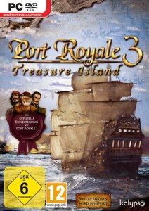Port Royale 3 Treasure Island Add-On. Für Windows XP/Vista/7