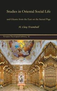 Studies in Oriental Social Life