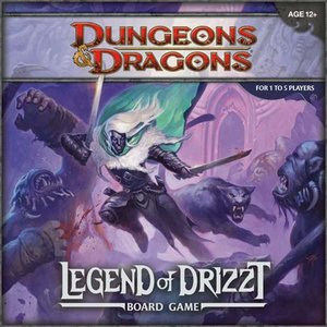 Pegasus Spiele WOC35594 - Legend of Drizzt: A Dungeons & Dragons