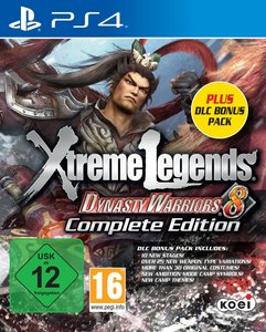 Dynasty Warriors 8 Complete Edition DLC Bonus Pack (PlayStation