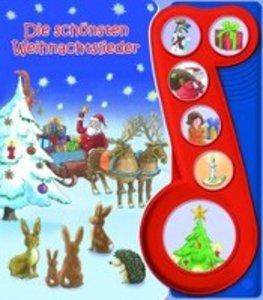 Meine schönsten Weihnachtslieder. 6-Button-Soundbuch
