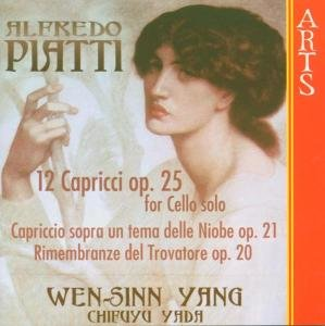 12 Capricci op.25 For Cello Solo