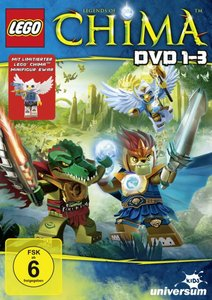 LEGO Legends of Chima DVD 1-3 (Special Edition,3