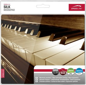 Speedlink SILK Mousepad, Piano
