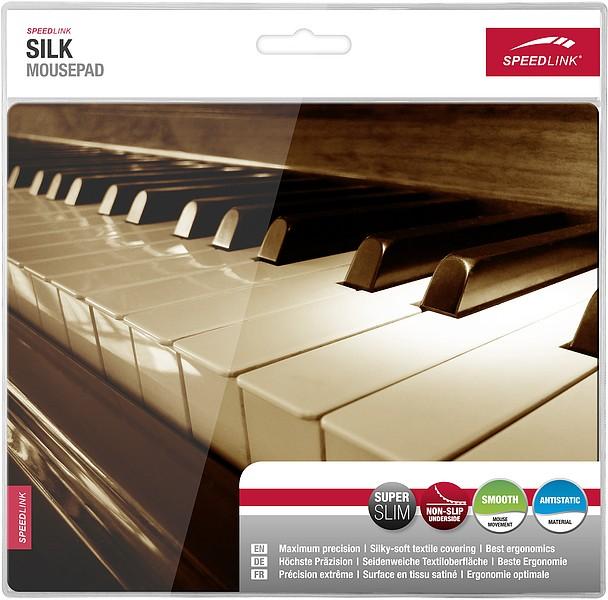 Speedlink SILK Mousepad, Piano - zum Schließen ins Bild klicken