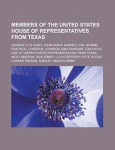 Members of the United States House of Representatives from Texas