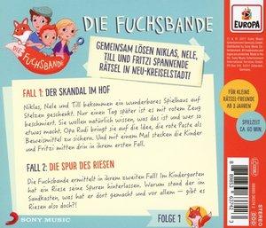 001/Fall 1: Der Skandal im Hof/Fall 2: Die Spur