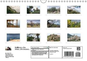 Emotional Moments: Mallorca - the West. UK-Version (Wall Calenda