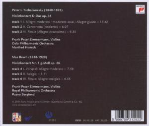 Tschaikowsky/Bruch: Violinkonzerte - zum Schließen ins Bild klicken